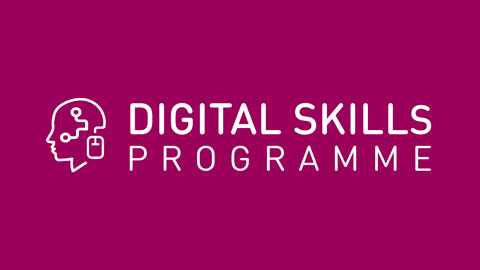 Image of Digital Skills Programme logo.