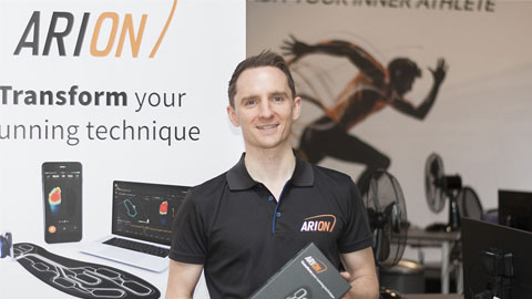 Image of alumnus Andrew Statham, the founder of ARION.