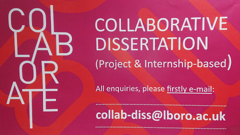 Collaborate event advert