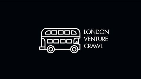 Image of bus outline and London Venture Crawl text.