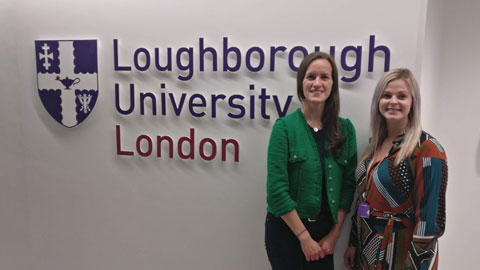 Image of Sophie Morris and Dr Emily Hayday.