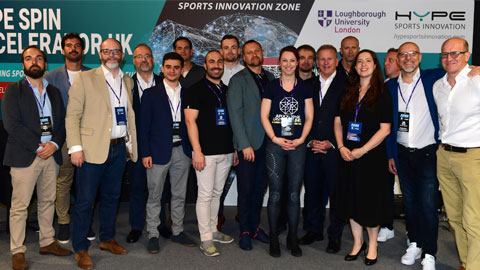 Image of SPIN accelerator pitch attendees 2019.