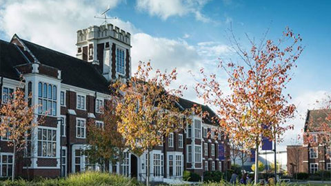 Image of the Hazlerigg Building in Loughborough.