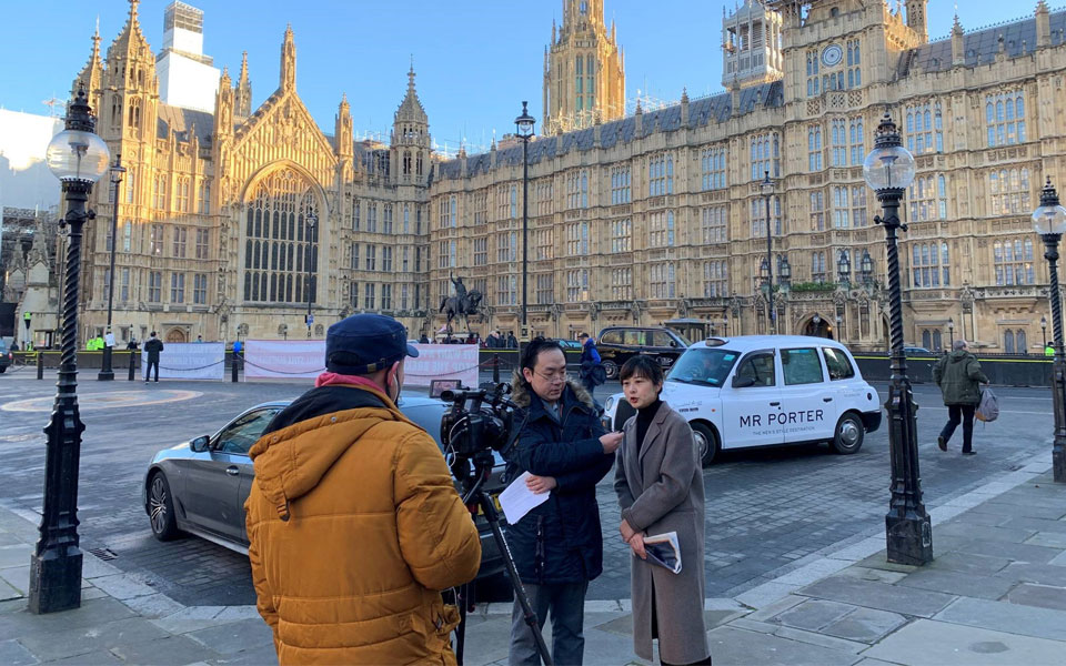 Yanling Yang interview on Brexit
