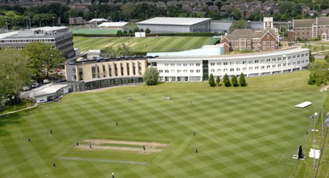 Loughborough University Cricket pitch